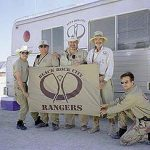 Early Sighting of Rangers at Burning Man