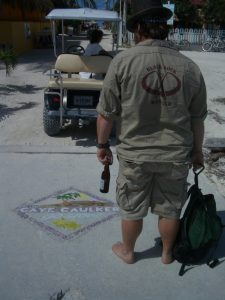 Ranger at Caye Caulker