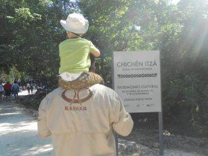 Ranger at Chichen Itza