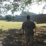 Ranger at Kabah