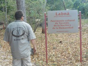 Ranger at Labna