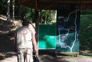 Ranger at Lamanai