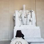 Ranger at Lincoln Memorial