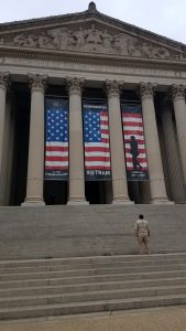 Ranger at National Archives in DC