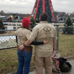 Rangers at National Christmas Tree in DC