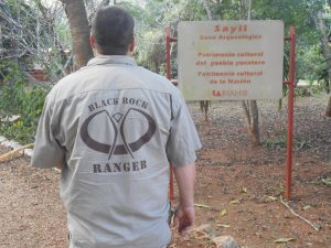 Ranger at Sayil