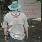 Ranger at Uxmal