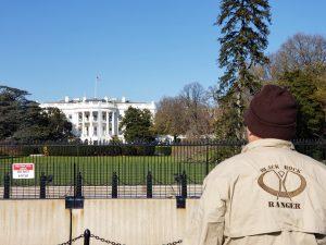 Ranger at the White House