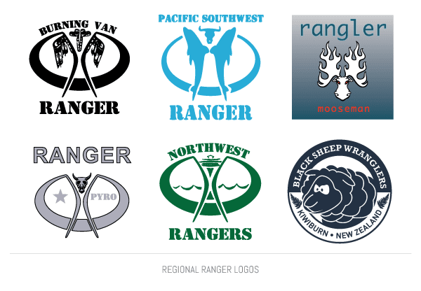 Regional Ranger Logos