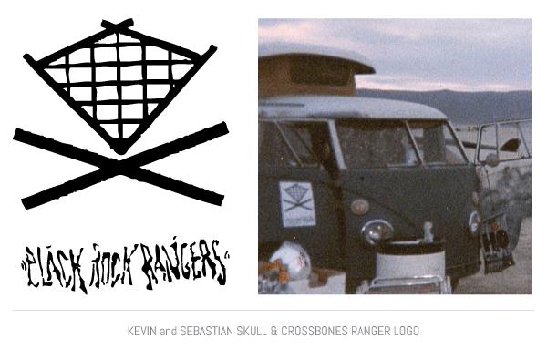 Kevin and Sebastian Skull and Crossbones Ranger Logo