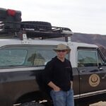 Once upon a time the Scout was black and it visited Death Valley and did quite well in Titus Canyon.